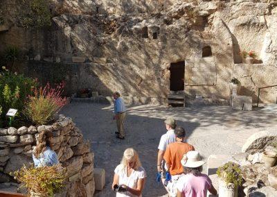 Garden tomb where Jesus was buried0