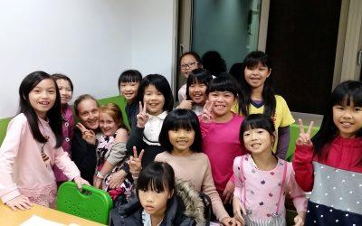 English class in Taiwan