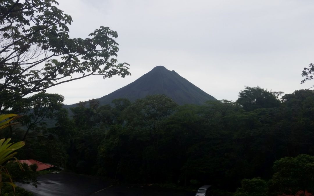 Our Trip to See the Arenal Volcano and a Rain Forest